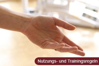 Zu den Nutzungs- und Trainingsregeln